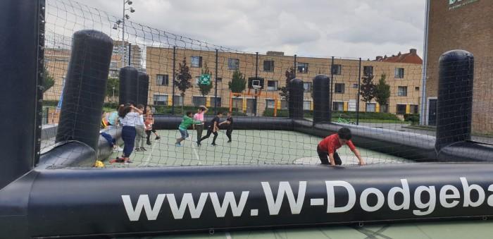 Sport en spel vrijdagen en aankomende buurtfeest