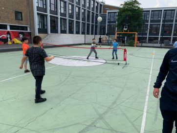 Sport en spel: Piet mondriaanplein