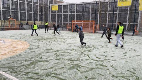 Zaterdagse sport en spelen