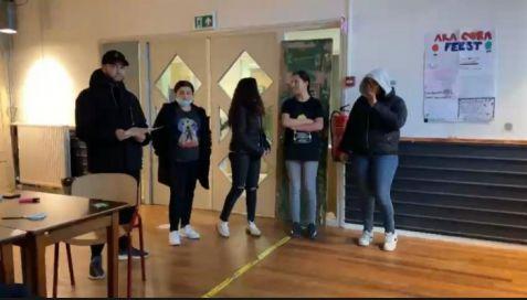Drukke voorbereidingen ter afsluiting Young Leaders project